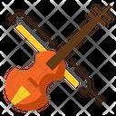 I Violin Violin Sitar Icon