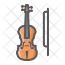 Violin Fiddle Orchestra Icon