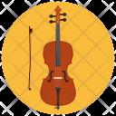 Cello Music Equipment Icon