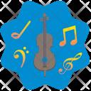 Violin Cello Classic Icon
