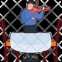 Violin Player Orchestra Musician Icon
