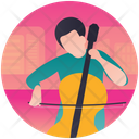 Violin Playing Violin Player Violin Music Icon