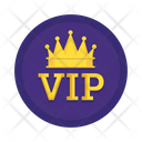 Vip Crown King Icon