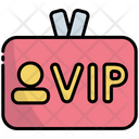 Vip Tag Icon