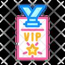 Vip Card Electronic Icon