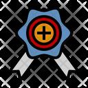 Vip Bouquet Badge Icon