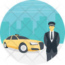 Driver Cab Driving Icon