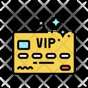 Vip Card Vip Premium Icon