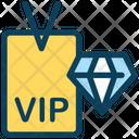 Vip Card Vip Vip Diamond Card Icon