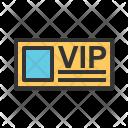 Vip Card Ticket Icon