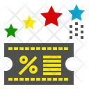 Rabate Discount Sale Icon
