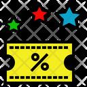 Privilege Vip Discount Icon
