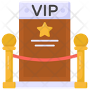 Vip Entry Card Vip Entryway Vip Entrance Icon