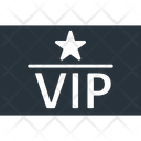 Vip Greetings Event Pass Event Ticket Icon