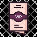 Vip Invitaion Icon