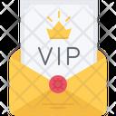 Vip Invitation Icon