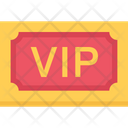 Vip Invitation Vip Card Vip Pass Icon