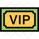 Vip Invitation Party Icon