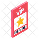 Vip Card Vip Voucher Vip Pass Icon