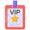 Vip Card Vip Pass Vip Id Icon