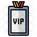 Vip Pass Vip Card Vip Icon