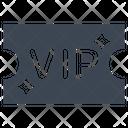 Pass Ticket Vip Icon