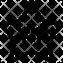 Vip Star Label Icon