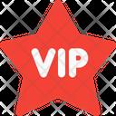 Vip Star Label Vip Label Vip Badge Icon