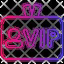 Vip Tag Vip Pass Icon