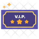 Ticket Vip Entrance Icon