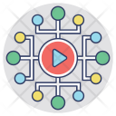Video Marketing Viral Icon