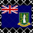 Virgin Islands British Flag Flags Icon