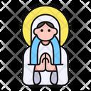 Virgin Mary Christianity Avatar Icon