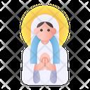Virgin Mary Avatar Religion Icon