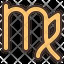 Virgo Maiden Zodiac Icon