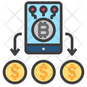 Virtual Currency Mobile Icon