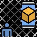 Virtual Hologram Product Icon