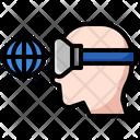 Virtual Augmentation Digital Virtual Icon