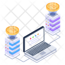 Virtual Business Icon