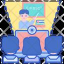Virtual Class Online Class Digital Class Icon