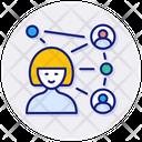 Virtual Classroom Classroom Conference Icon