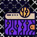 Digital Wallet Virtual Icon