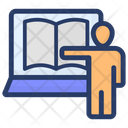 Virtual Classroom Online Training Online Presentation Icon