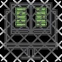 Virtual Education Online Icon