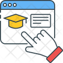 Virtual Education Icon
