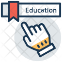 Virtual Education Distance Icon