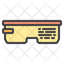Virtual Glasses Device Gadget Icon