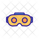 Video Game Goggle Icon