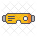 Virtual Glasses Virtual Goggles 3 D Glasses Icon