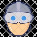 Virtual Glasses Icon